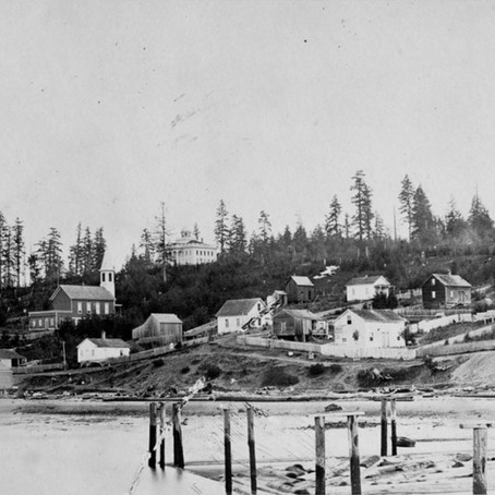 An Early View of Seattle