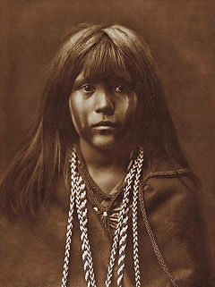 Mosa, A Mohave Girl, 1903