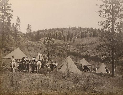 909 Spokane Reservation Camp