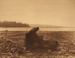Mussel Gatherer, 1900