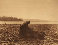 Mussel Gatherer, 1900