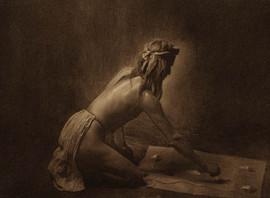 Apache Medicine Man, 1907