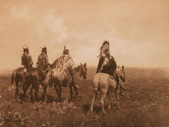 The Chief and His Staff - Apsaroke