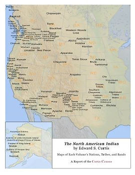 Maps of the Indigenous Nations, Tribes, and Bands of The North American Indian