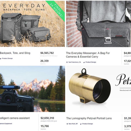 The Expanding Universe of Crowdfunded Photo Gear