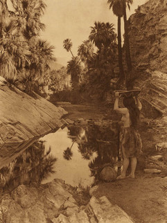 Before the white man came - Palm Cañon, 1924