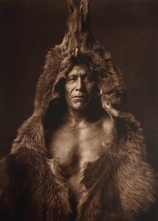 Bear's Belly - Arikara, 1908. Portfolio 5, Plate 150