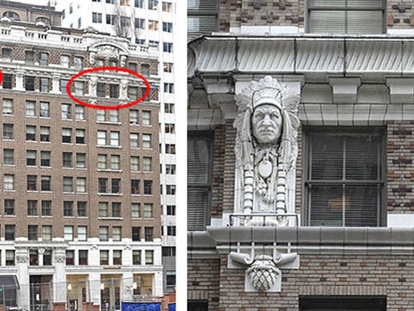 The Curtis-inspired Native Chief Sculptures Watching Over Seattle