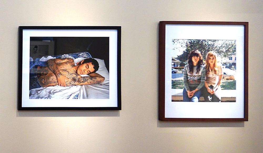 Tony in Bed and Vanessa & Jessica, Pasadena, CA, by Marilyn Montufar
