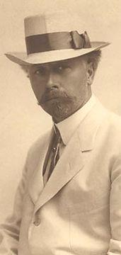 Edward S. Curtis self-portrait 1908