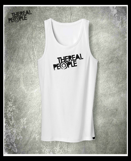 The Real People - Logo Athletic Vest