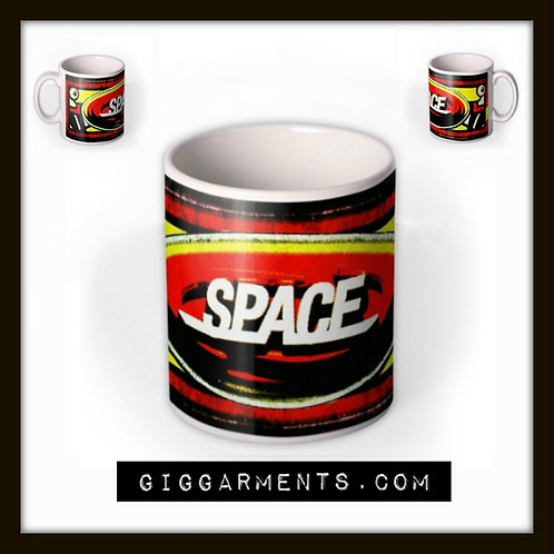 Space - Official Logo Mug (red).