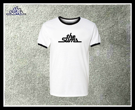 The Sums - Official logo shirt b/w