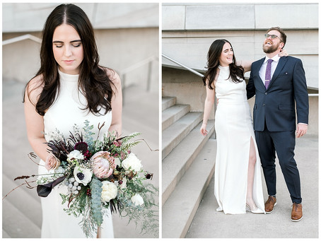 ALYSSA & BRAD- PEROT MUSEUM WEDDING