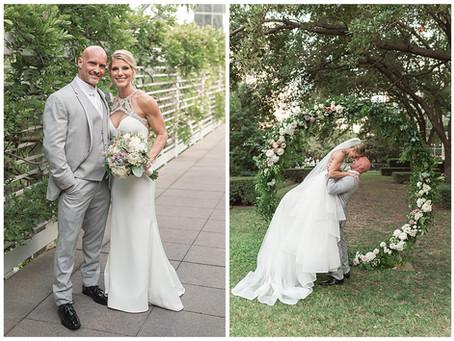 LYDDANE & KURT-DALLAS GARDEN WEDDING AT MARIE GABRIELLE
