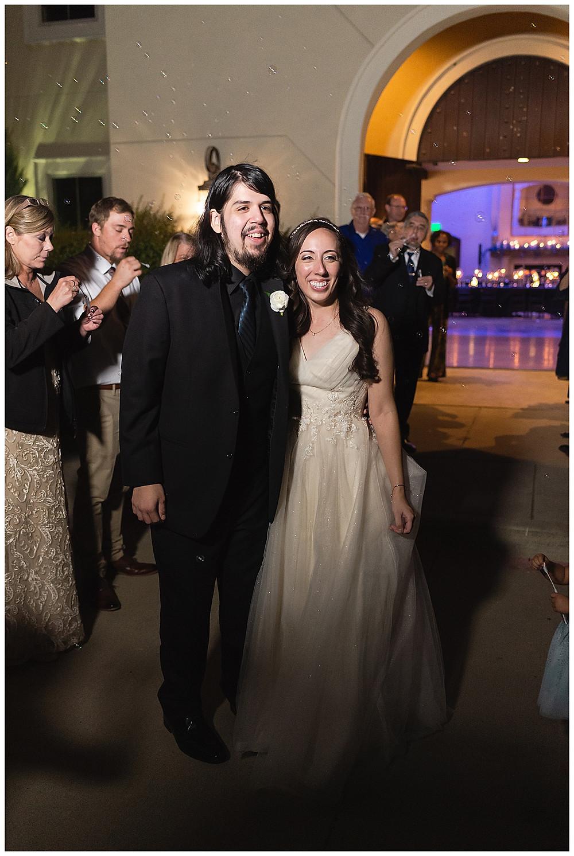 Chapel Ana Villa, The colony Texas, dallas wedding, dallas wedding photography, dallas wedding venue , brunch wedding food, bride and groom exit with bubbles
