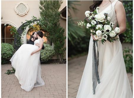 HECTOR & BRIANNA: Wedding at Chapel Ana Villa, The Colony, Texas