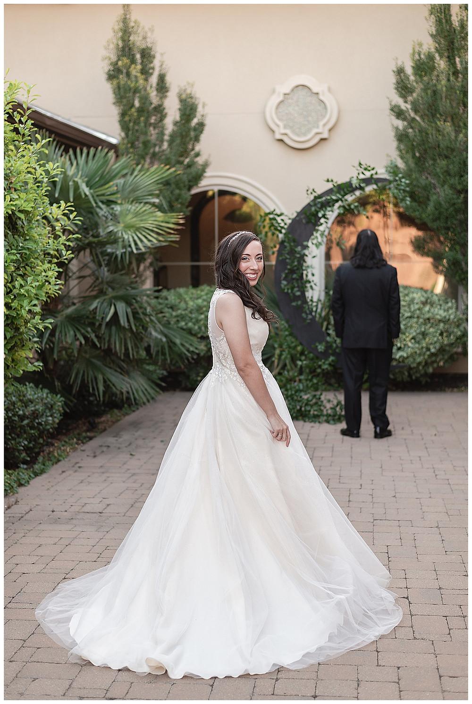 Chapel Ana Villa, The colony Texas, dallas wedding, dallas wedding photography, dallas wedding venue, bride groom first look