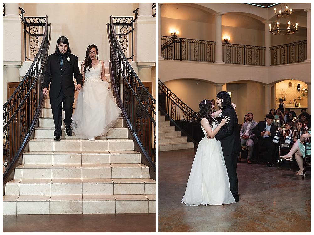 Chapel Ana Villa, The colony Texas, dallas wedding, dallas wedding photography, dallas wedding venue , first dance in ballroom