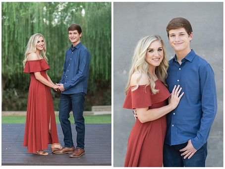 CHANDLER & ZACH- TEXAS FALL ENGAGEMENT IN FORT WORTH