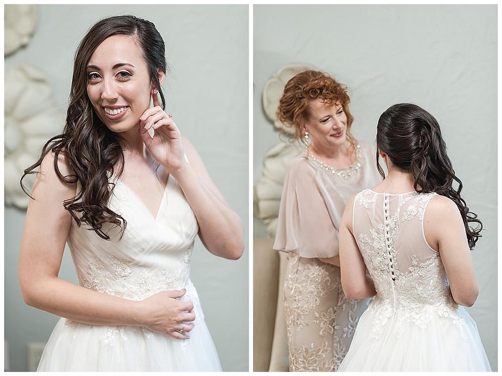 Chapel Ana Villa, The colony Texas, dallas wedding, dallas wedding photography, dallas wedding venue, mom helping bride get  ready wedding day,