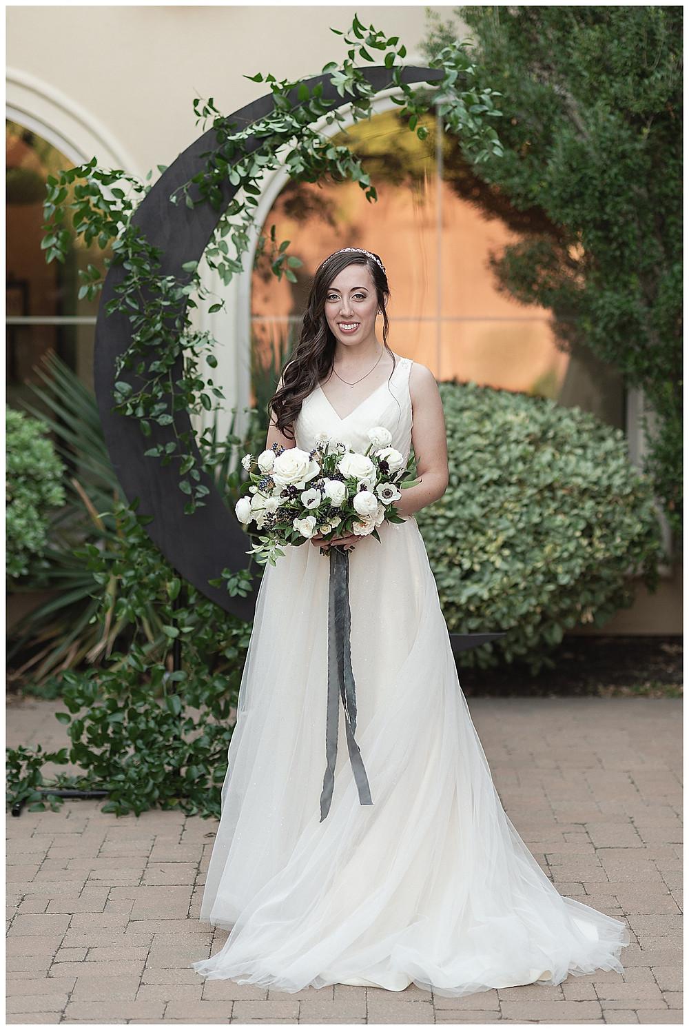 Chapel Ana Villa, The colony Texas, dallas wedding, dallas wedding photography, dallas wedding venue , bridals, moon floral install