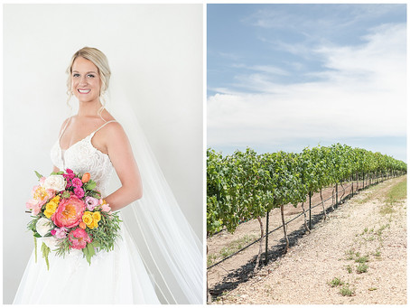 MEAGAN'S WEATHERFORD BRIDAL SESSION AT DOVE RIDGE VINEYARDS