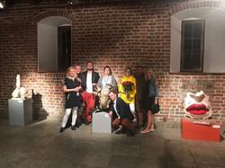 Arsenal Exhibition 2018 family