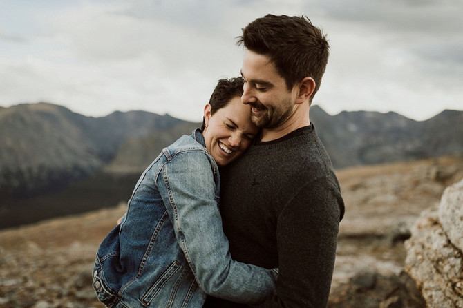 Andy & I: Couple Session in Rocky Mountain National Park
