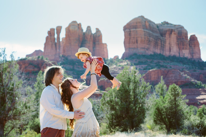 Sedona Lifestyle Family Session