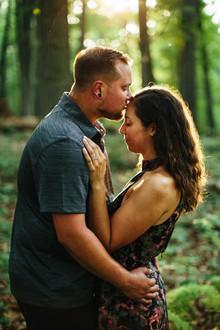 Tyler State Park Engagement: Alli & Austin