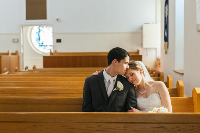 Loft at Landis Creek Wedding: Leah & Josh