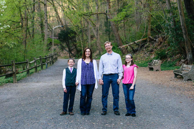 Wissahickon Valley Park Family Session
