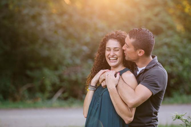 Norristown Farm Park Engagement: Krystal & David