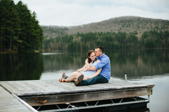 Lakeside Camp Engagement: Caitlin & Scott