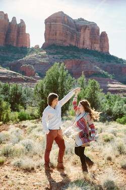 Cathedral Rock Couple Session