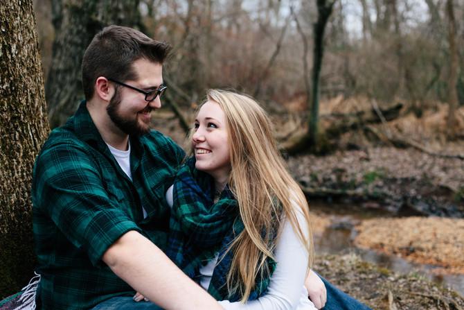 Allaire State Park Engagement: Ashley & Cameron