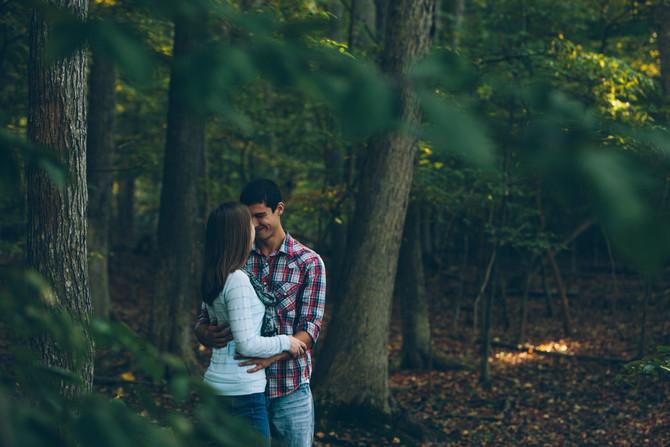 Green Lane Engagement: Leah & Quiggs