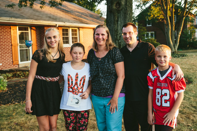 Adoption Homecoming: The Thompson Family