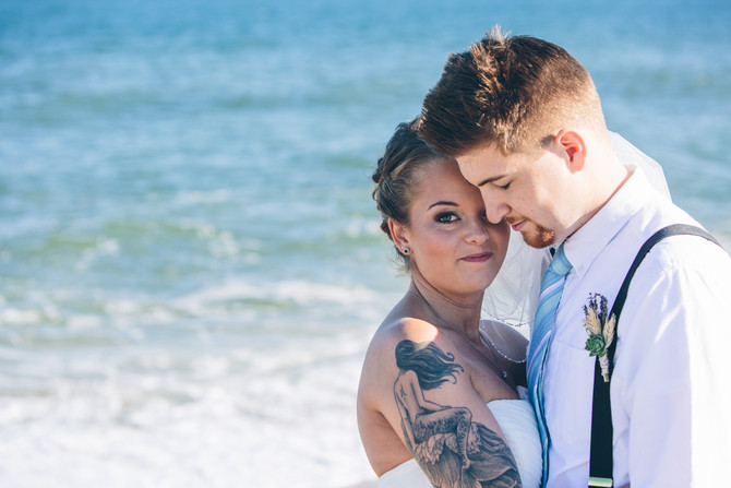 New Jersey Beach Wedding: Breanna & Andrew