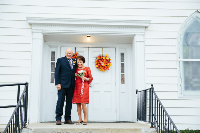 Intimate Wedding: Bev & Merrill