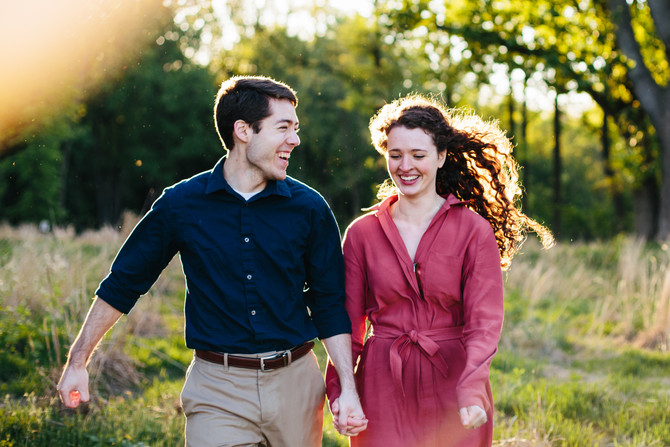 Wissahickon Valley Park Engagement: Jess & Caleb