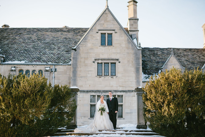 Pittsburgh Winter Wedding at Springwood