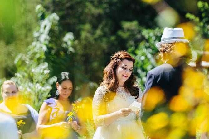 Bowman's Hill Wildflower Preserve Wedding: Lauren & Jon