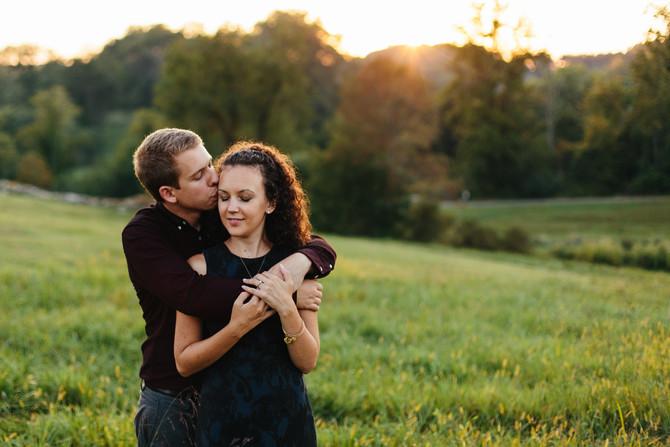 Ridley Creek State Park Engagement: Melissa & Vito