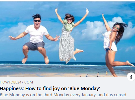How to Find Joy on Blue Monday