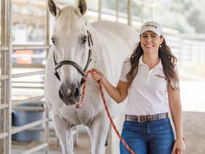 Horse Massage Therapist - Branding Photos and Website Design