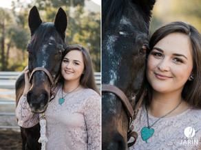 Jen & Apollo   Horse and Rider Portraits   Poway, San Diego