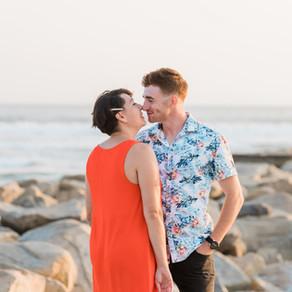 Oceanside Couples Photos & Pregnancy Announcement | Oceanside Harbor