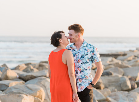 Oceanside Couples Photos & Pregnancy Announcement | Oceanside Harbor
